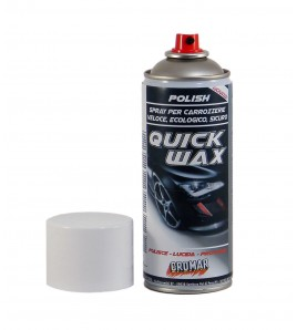 CROMAR QUICK WAX Polish lucidante SPRAY alla cera carnauba