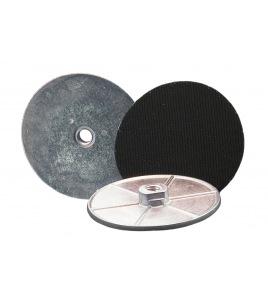 Flangia in alluminio, platorello per lucidatura, diametro 100 attacco 14MA