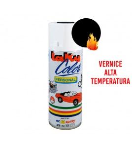 Vernice spray alta temperatura NERO opaco